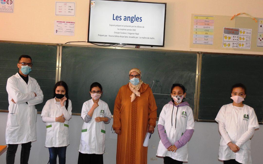 Groupe Scolaire l'arganier Najed -Exposé en mathématiques ( 5ème A.P.G )